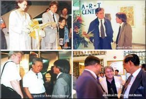 . Retrospective Solo Art Exhibition of Glenn A. Bautista / Gallery Genesis, SM Mall, Makati, Philippines