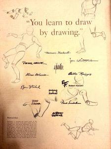 . Famous Artists Schools Instructors / Westport, Connecticut, USA