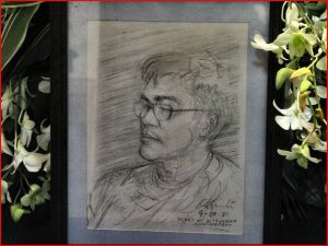 Armand Bacaltos: Sketched during one of our gatherings at Ad's resort in Calamba. Four years later, this was brought by his sisters to be exhibited at the chapel where his wake was held after he passed away in December 2005. Our dear departed friend will be in our hearts forever. Glenn A. Bautista: Sonny from QC would pick me up from Imus just to play golf in Carmona - Southwoods Golf course. Didn't get to take pictures then. Would have been great if I have pictures to remember him by. At least, I have a Callaway driver from him which I still use...See More
