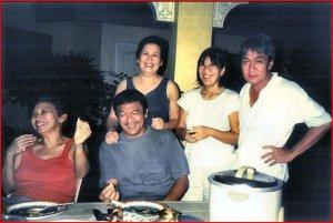 Glenn A. Bautista @ Ad's Place — with Peggy Bose, Armand Bacaltos, Tina Bacaltos and Adrienne Aguilar.