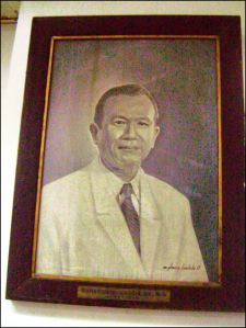 . Portrait of Dr. Gumersindo Garcia - by Glenn A. Bautista / Exhibited at the Gumersindo Garcia Hall, Central United Methodist Church, Ermita, Manila, Philippines