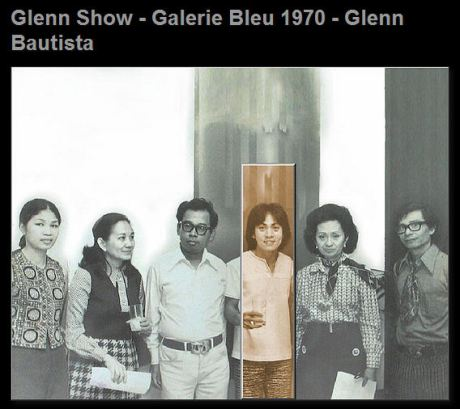 From left: Baby Trinidad, Corito Kalaw, Eric Torres, Glenn Bautista, Mrs, Tantoco, Rod Paras-Perez