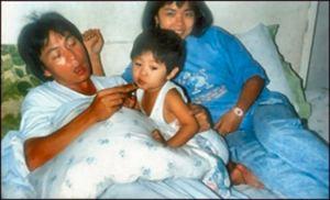 Glenn, Lorna and Baby David / Imus, Cavite
