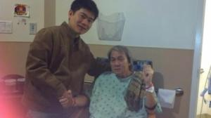 . Among many others, Phuong Dao visits Glenn at San Jacinto Methodist Hospital, 4401 Garth Rd Baytown, TX 77521. (will add more photos of visitors, later)