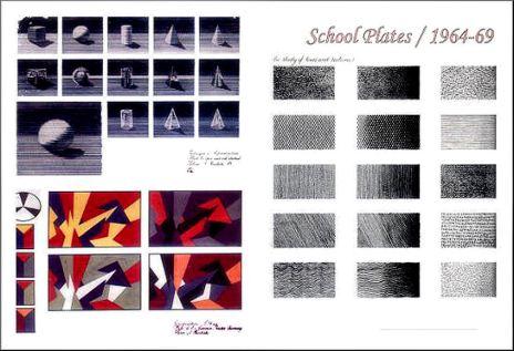 1964-69 - School plate