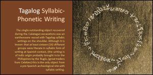 tagalog writing