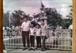 . Tony Cabundoc, Edwin Lee Bautista,  John Wesley Bautista, Glenn Bautista / Luneta Park
